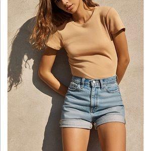 Urban Outfitters BDG Mom High-Rise Denim Shorts